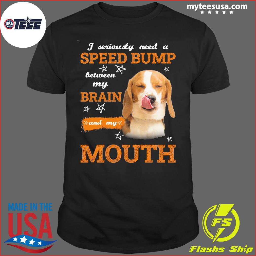 Beagle need a speed bump for beagle lover Classic T-Shirt