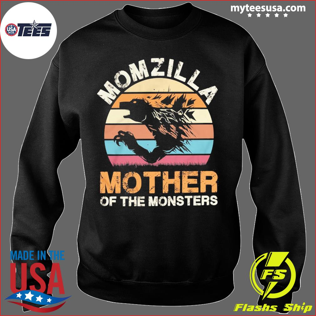 Momzilla Mother Of The Monsters Vintage Retro Shirt Sweater