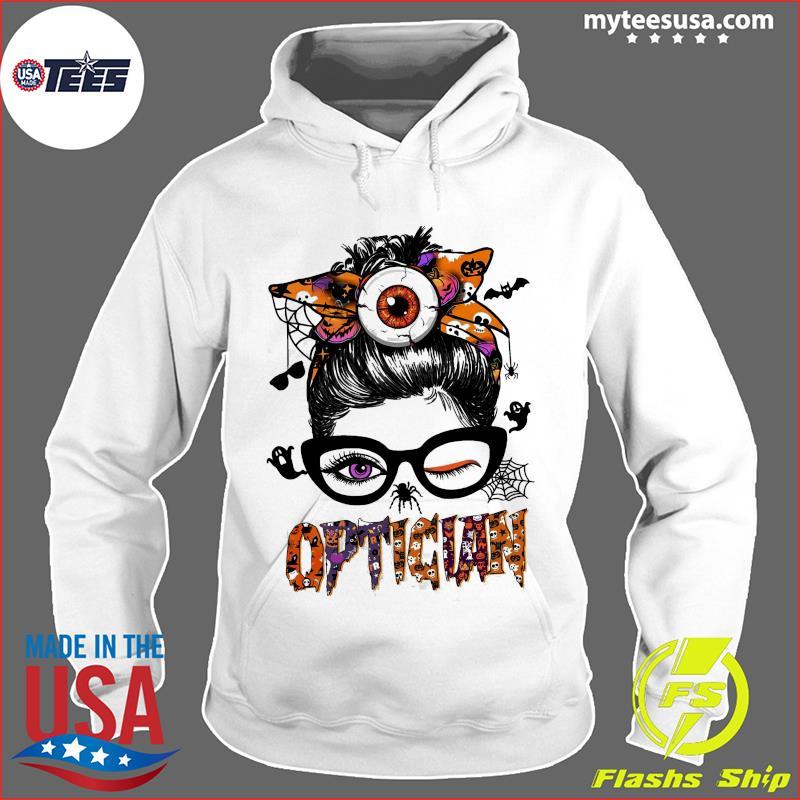 The Girl Optician Halloween Shirt Hoodie