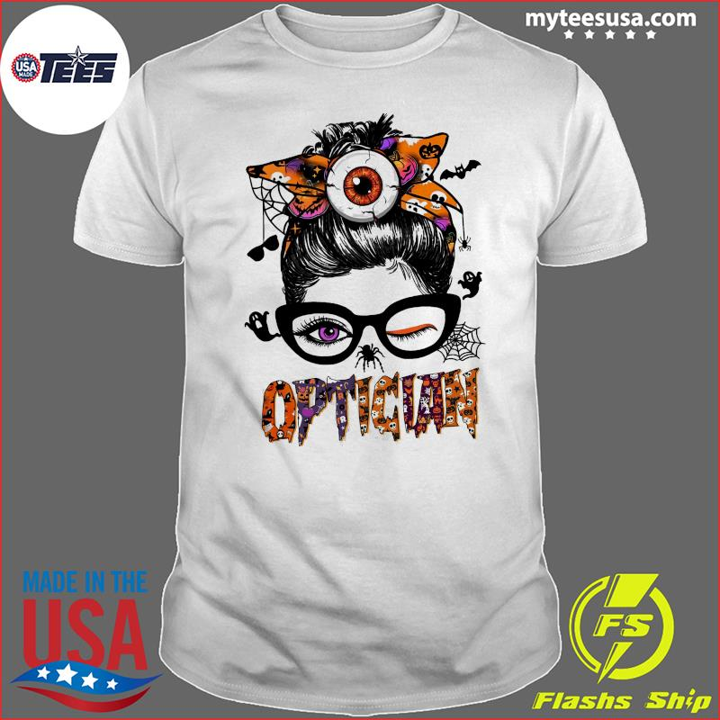 The Girl Optician Halloween Shirt