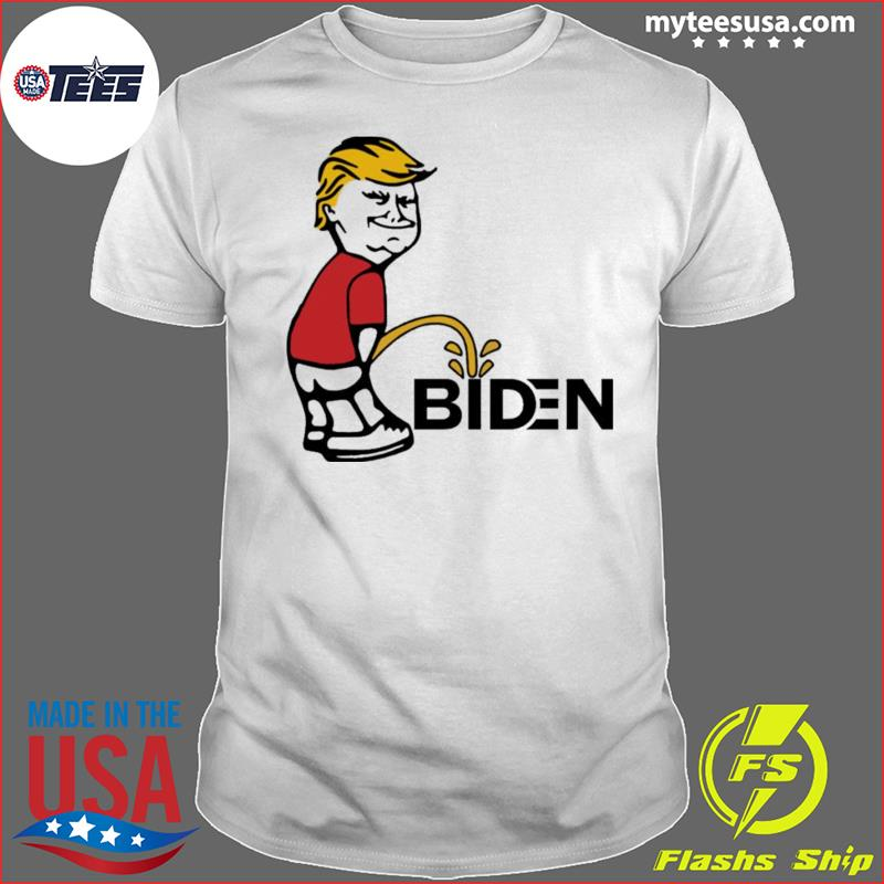 Trump pee Biden Tee Shirt