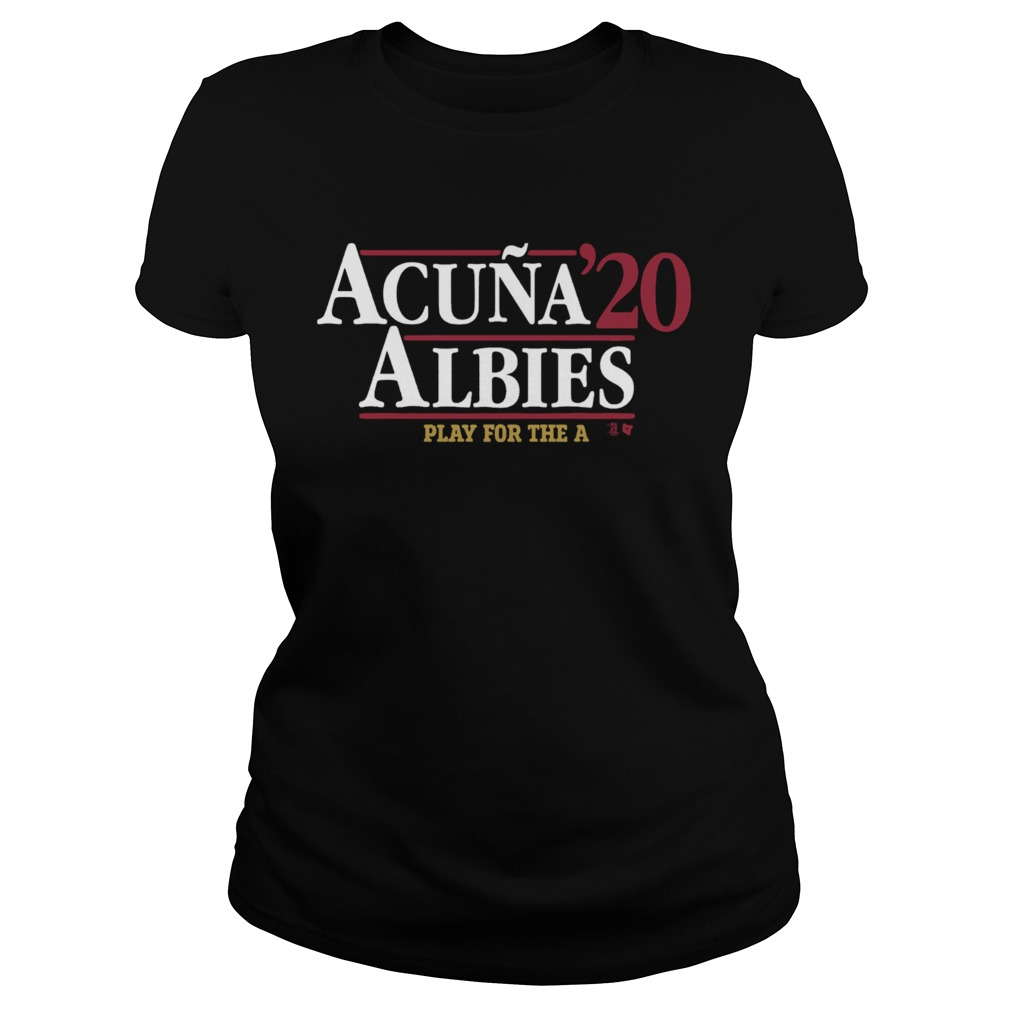 Acua Albies 20 Play For The A  Classic Ladies
