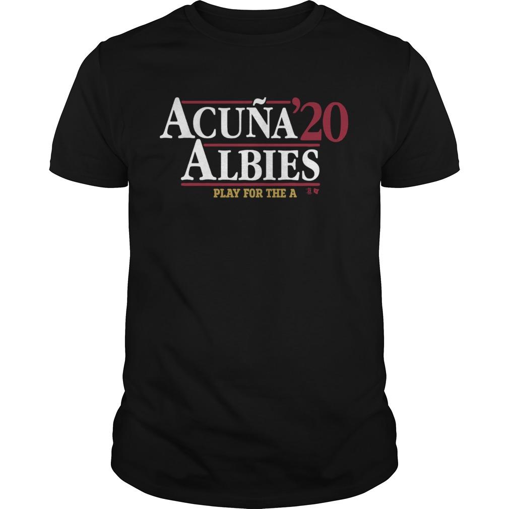 Acua Albies 20 Play For The A  Unisex
