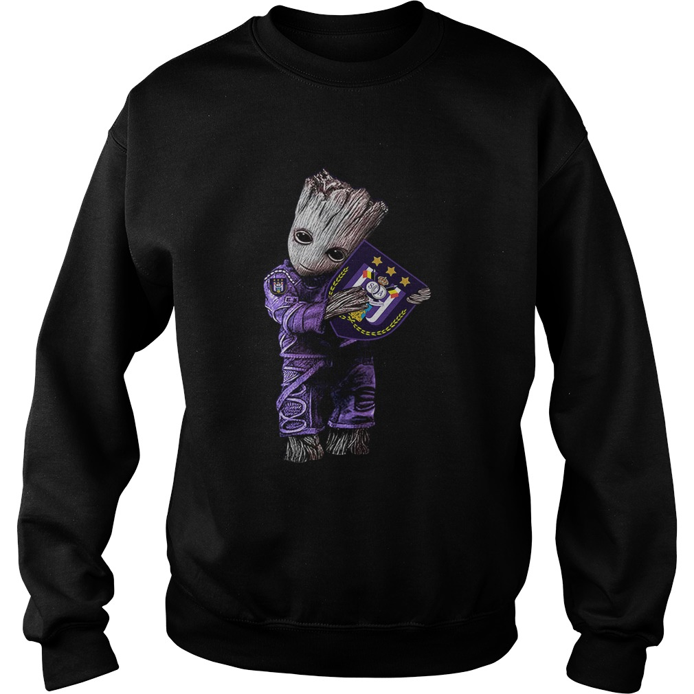Baby Groot hug RSC Anderlecht  Sweatshirt