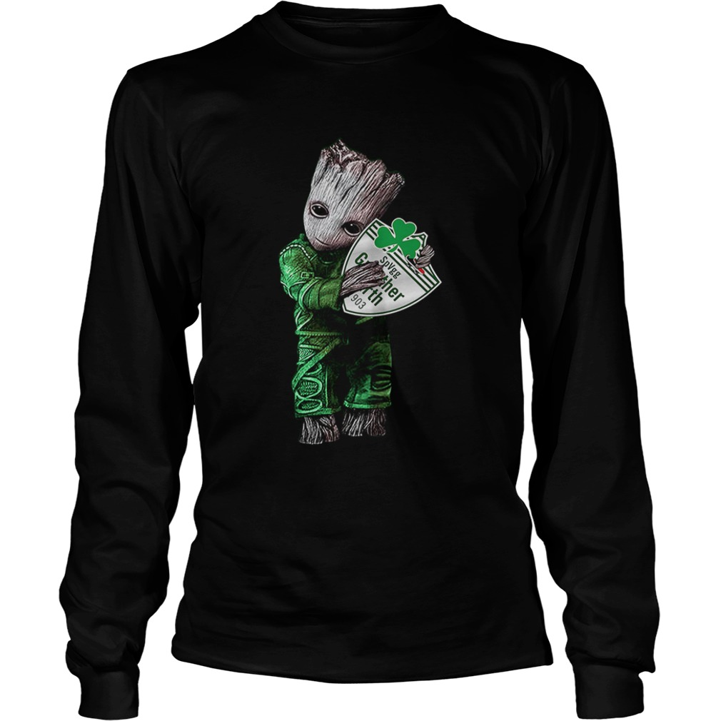Baby Groot hug SpVgg Greuther Frth  LongSleeve