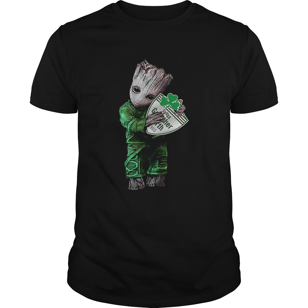 Baby Groot hug SpVgg Greuther Frth  Unisex