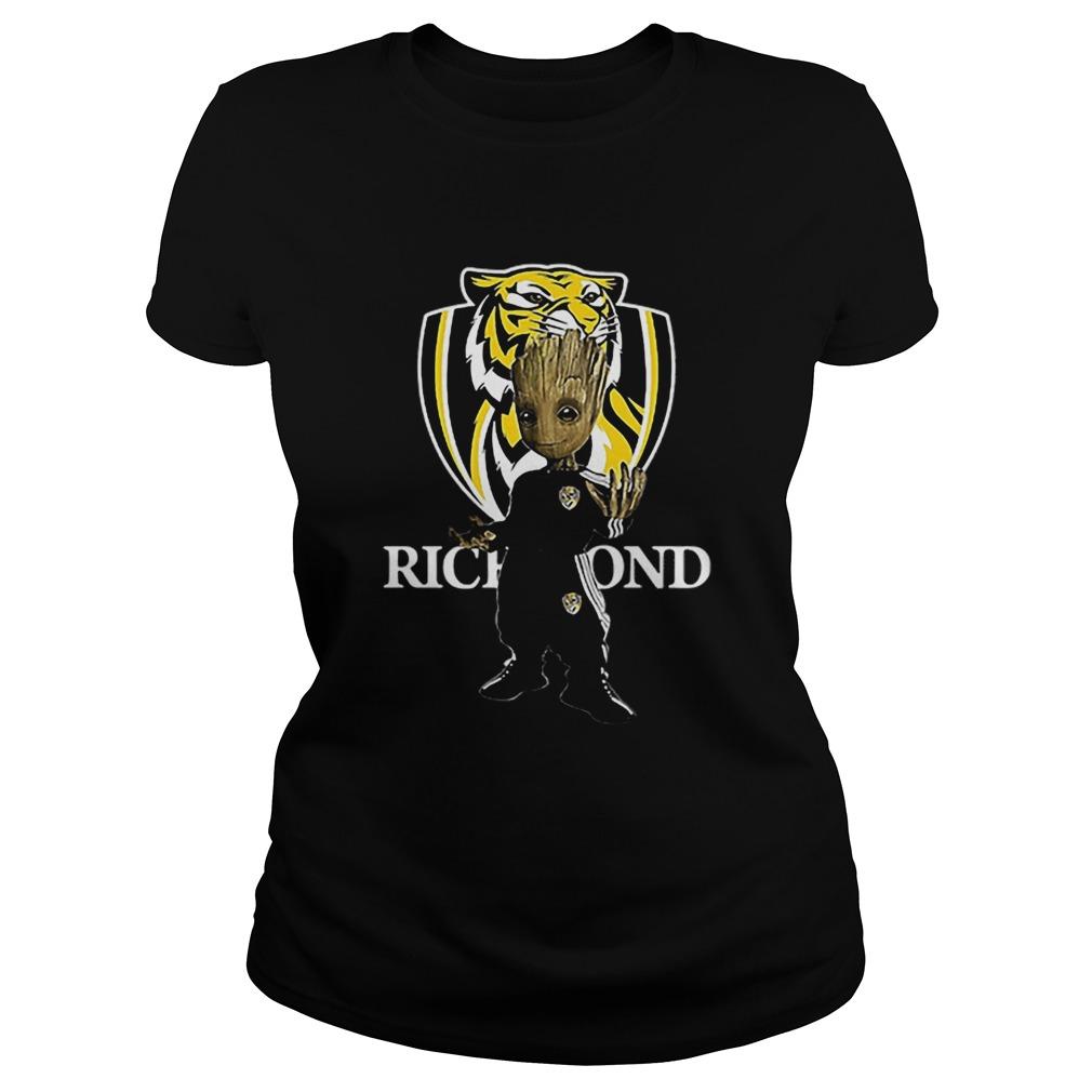 Baby Groot Richmond Football  Classic Ladies