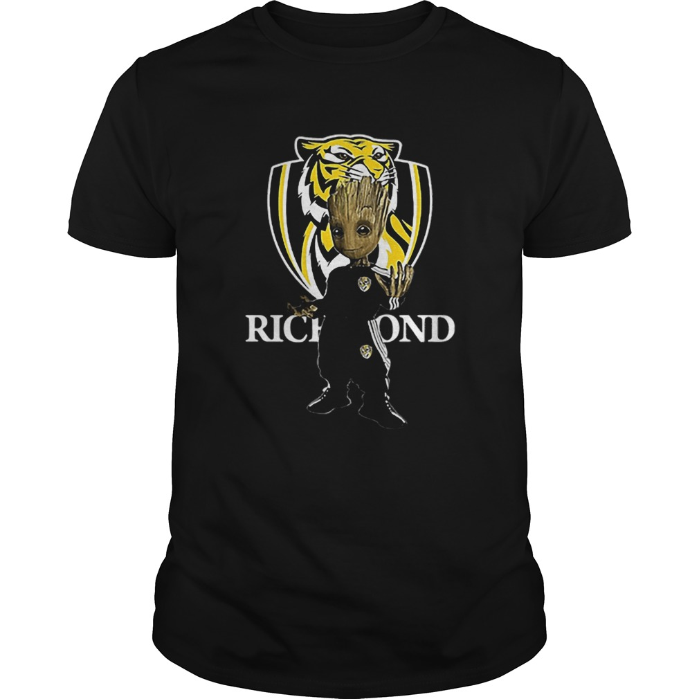 Baby Groot Richmond Football  Unisex