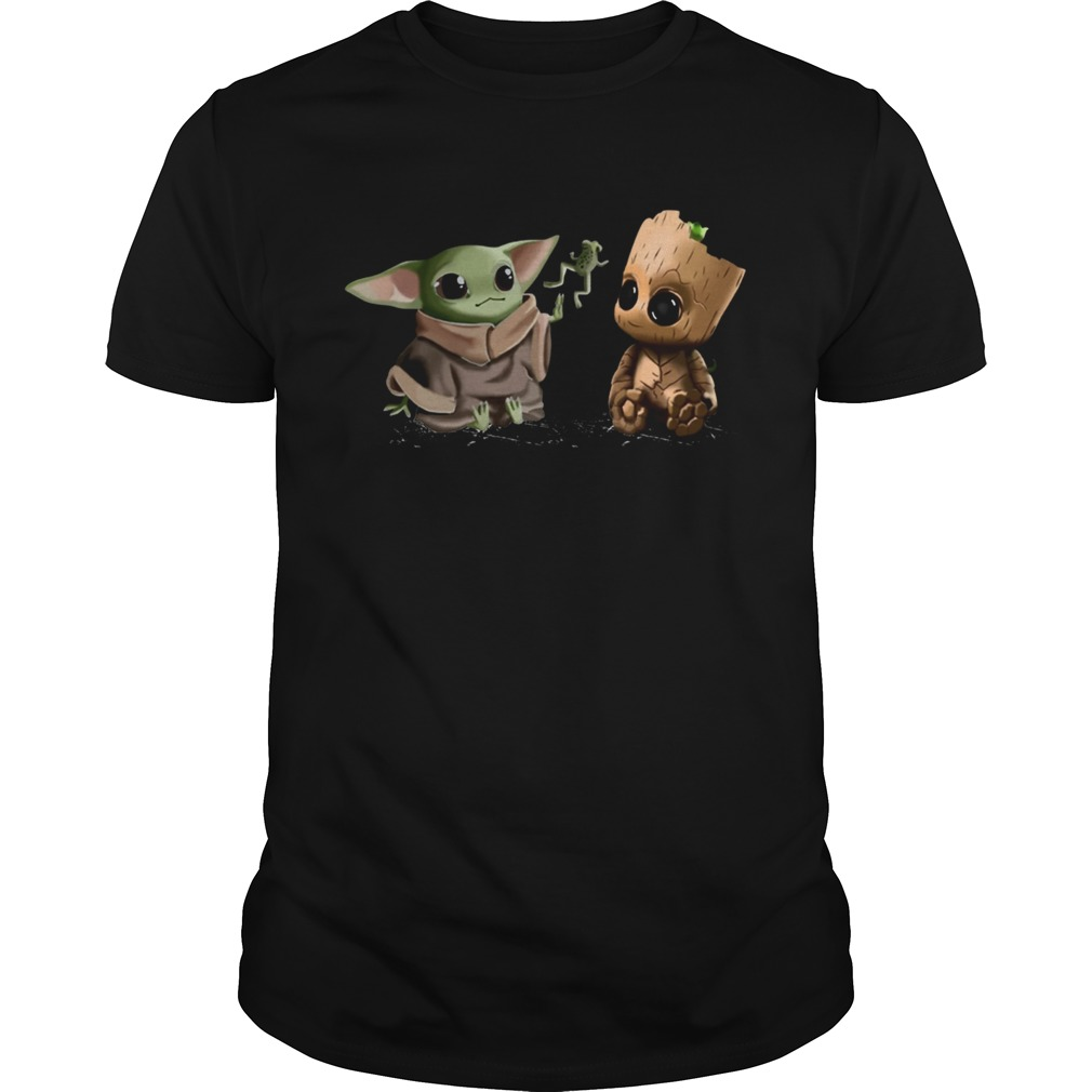 Baby Yoda Frog and Groot  Unisex