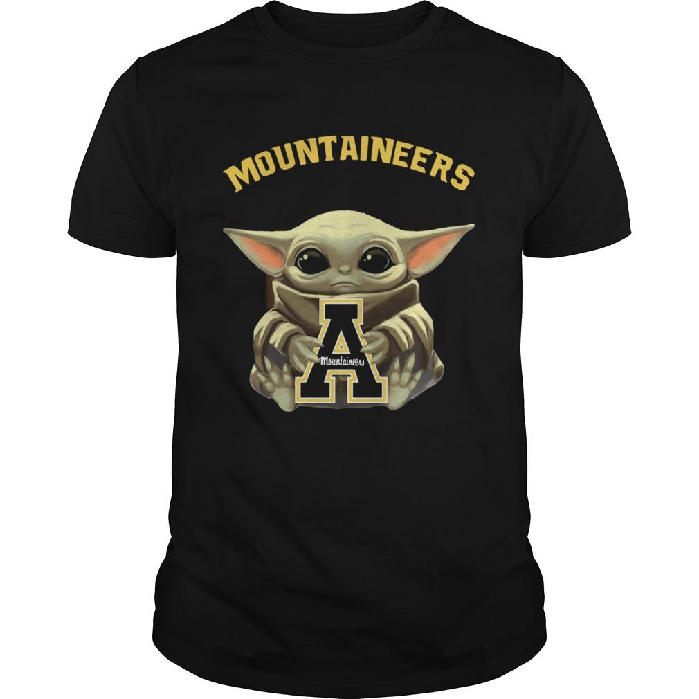 Baby Yoda hug Mountaineers  Unisex
