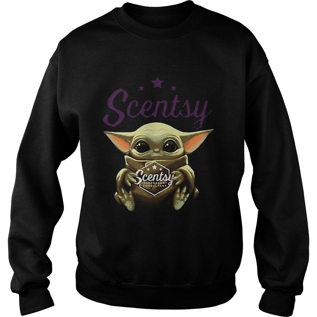 Baby Yoda Hug Scentsy Star Wars  Sweatshirt