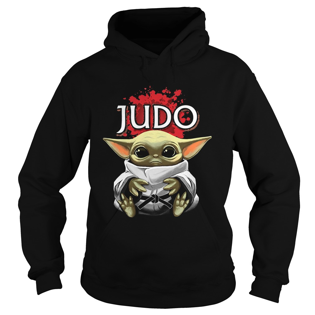 Baby Yoda Judo  Hoodie