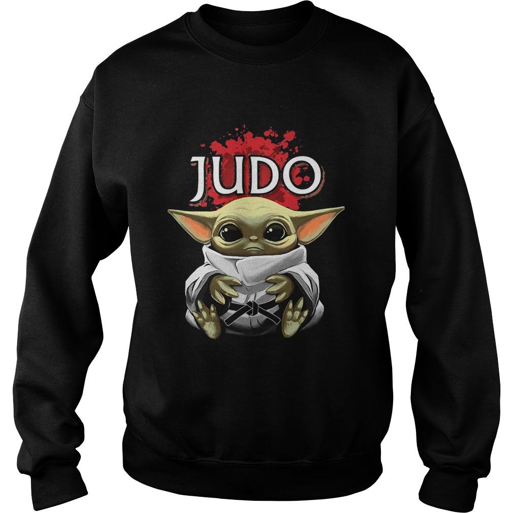 Baby Yoda Judo  Sweatshirt