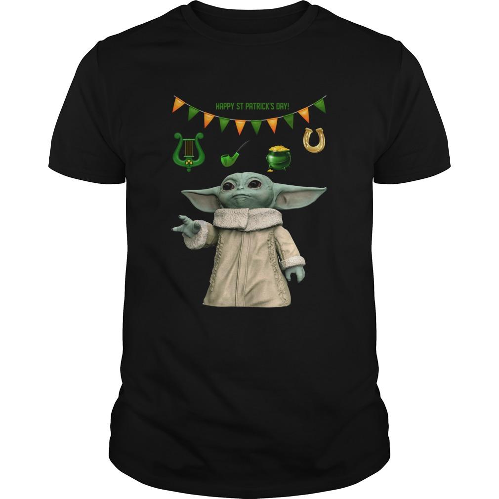 Baby Yoda St Patricks Day  Unisex