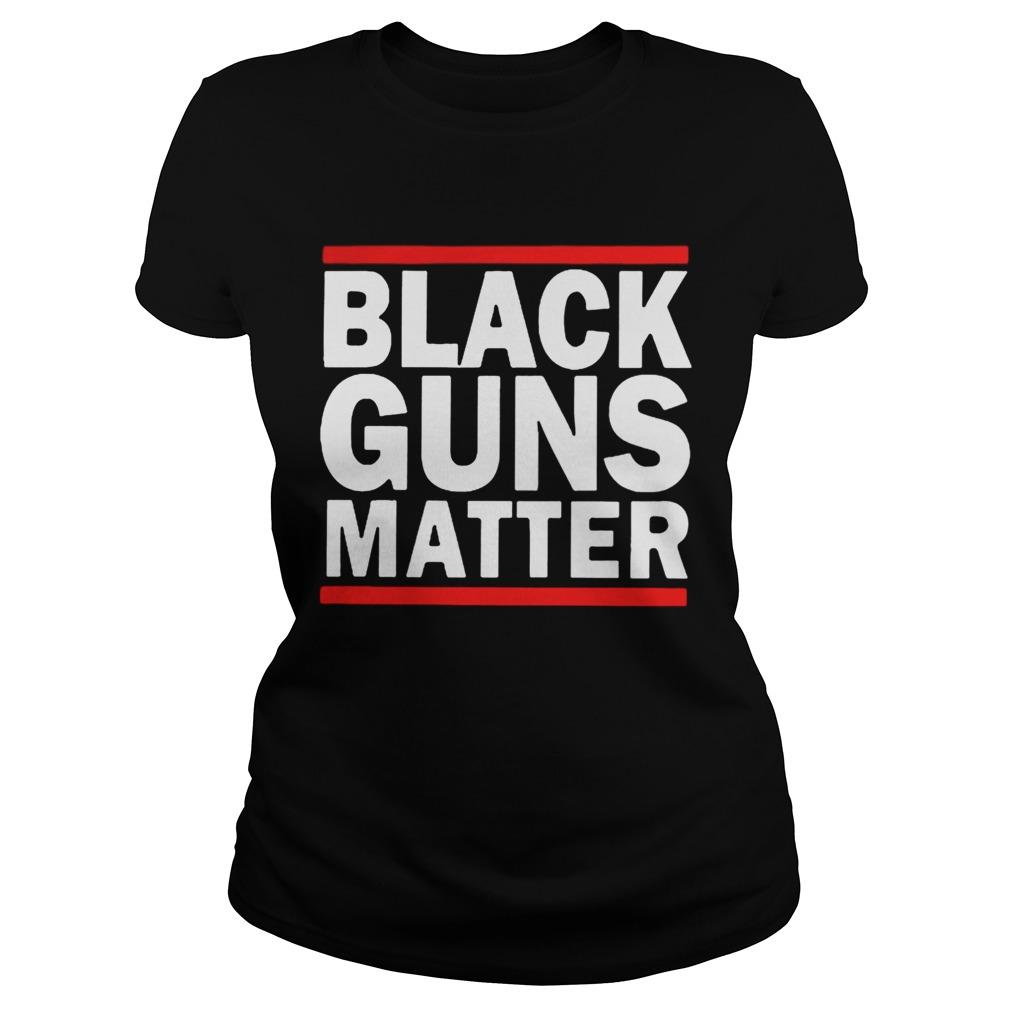 Bernie Rally Black Guns Matter  Classic Ladies
