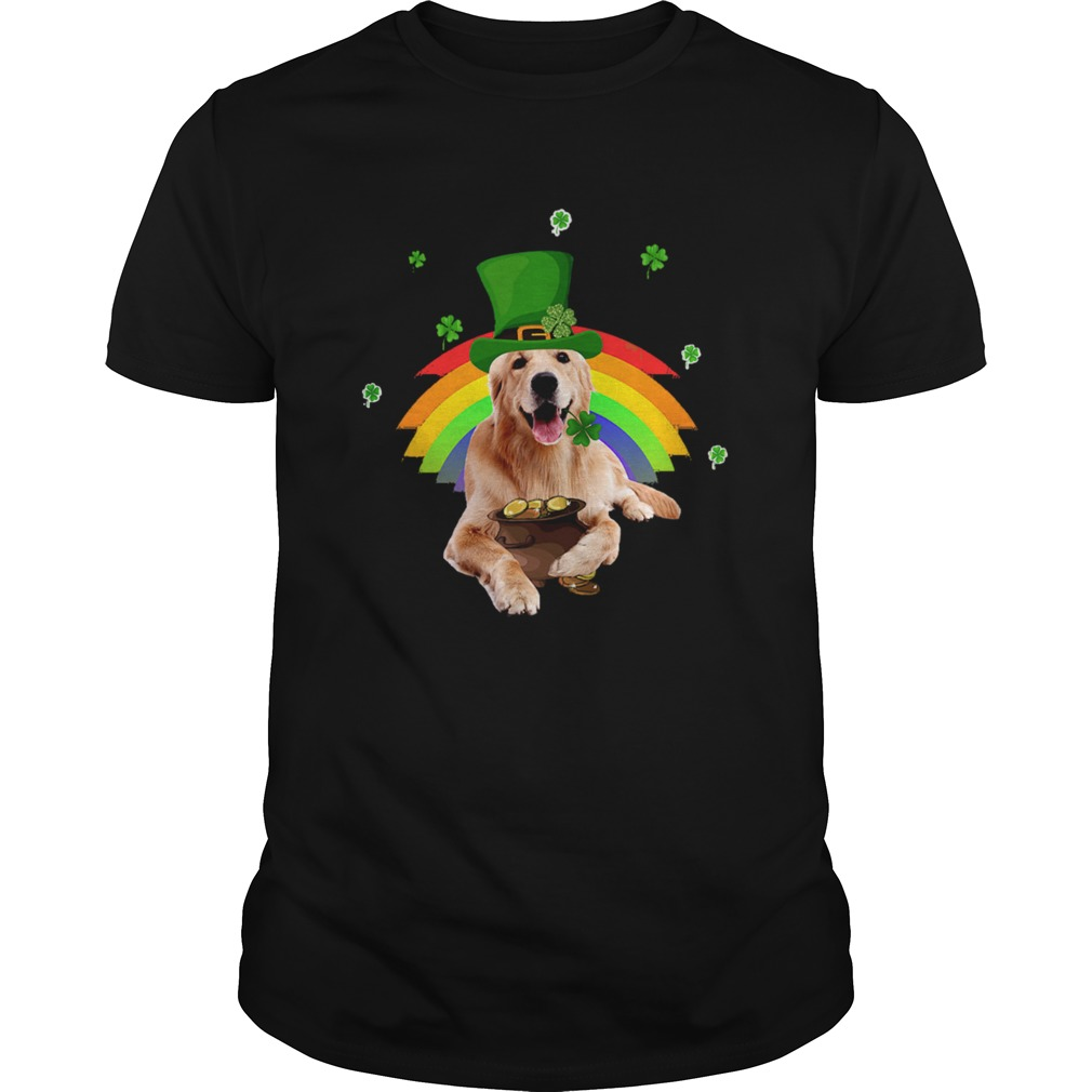 Golden Retriever St Patricks day  Unisex