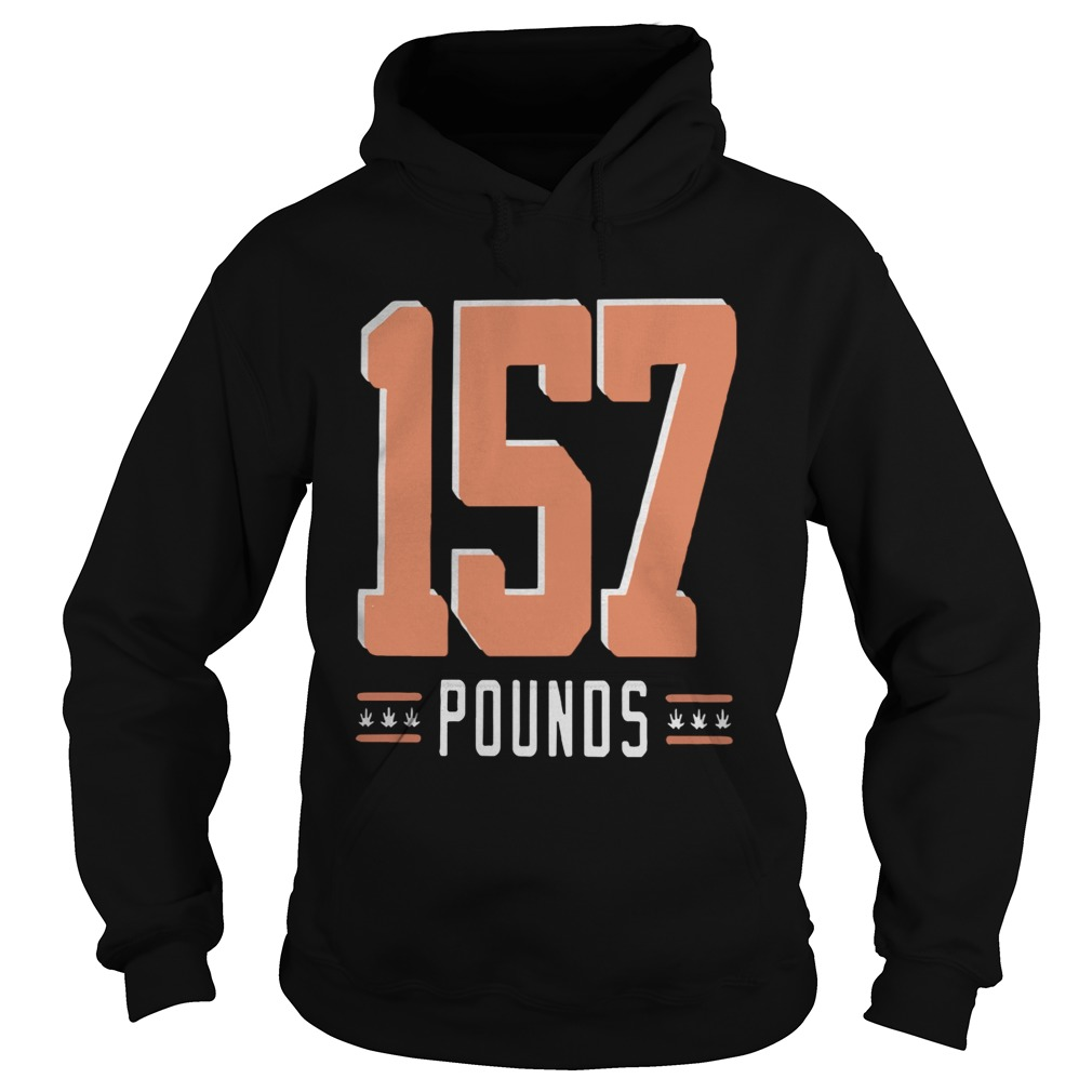 Gregory Robinson 157 Pounds  Hoodie