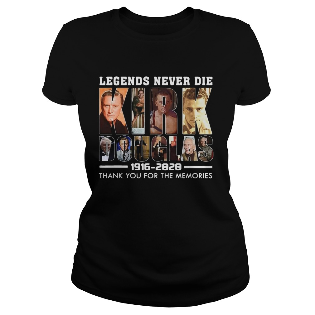 Legends Never Die Kirk Douglas 19162020 thank you for the memories  Classic Ladies