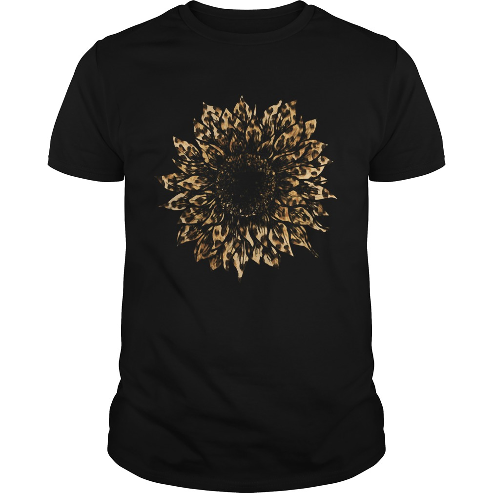 Leopard Sunflower  Unisex