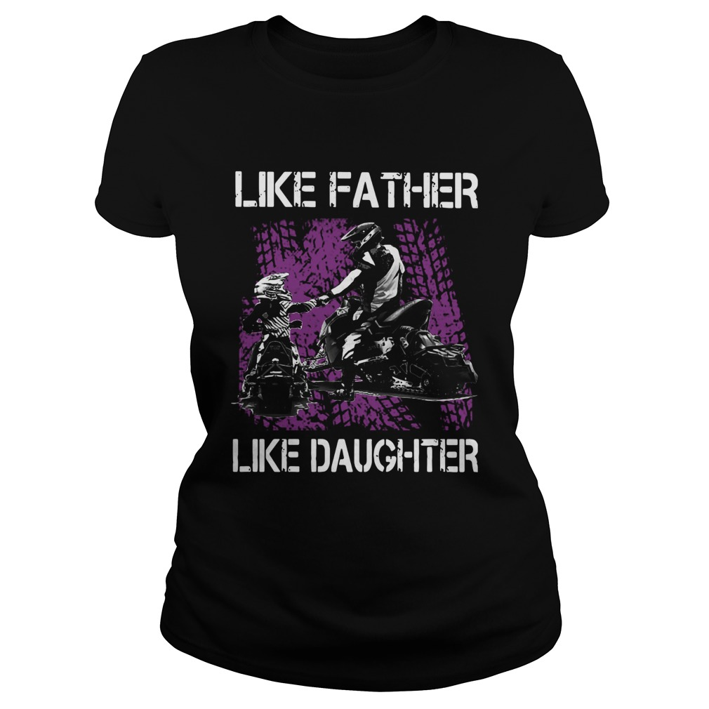 Like Father Like Daughter Motorbikes  Classic Ladies