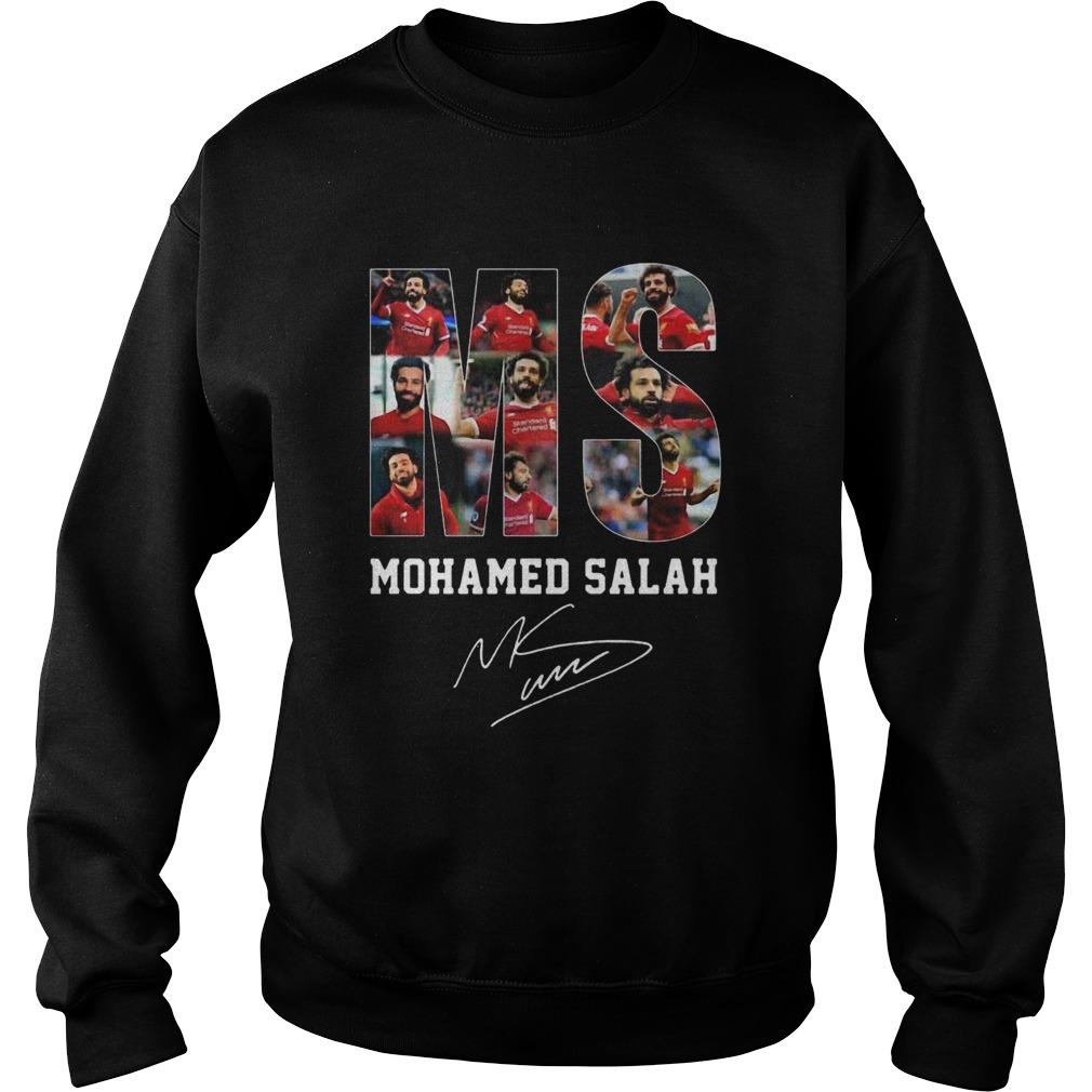 Ms Mohamed Salah Signature  Sweatshirt