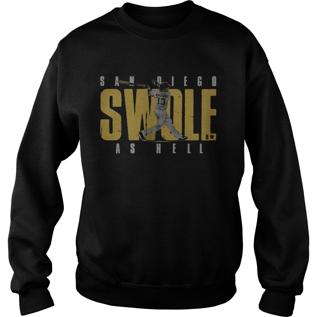 San Diego Swole As Hell  Sweatshirt
