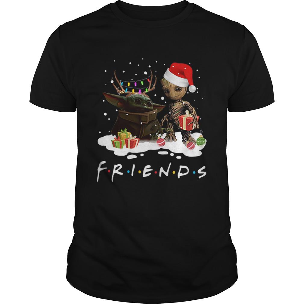 Santa baby Yoda and baby Groot Reindeer light christmas  Unisex