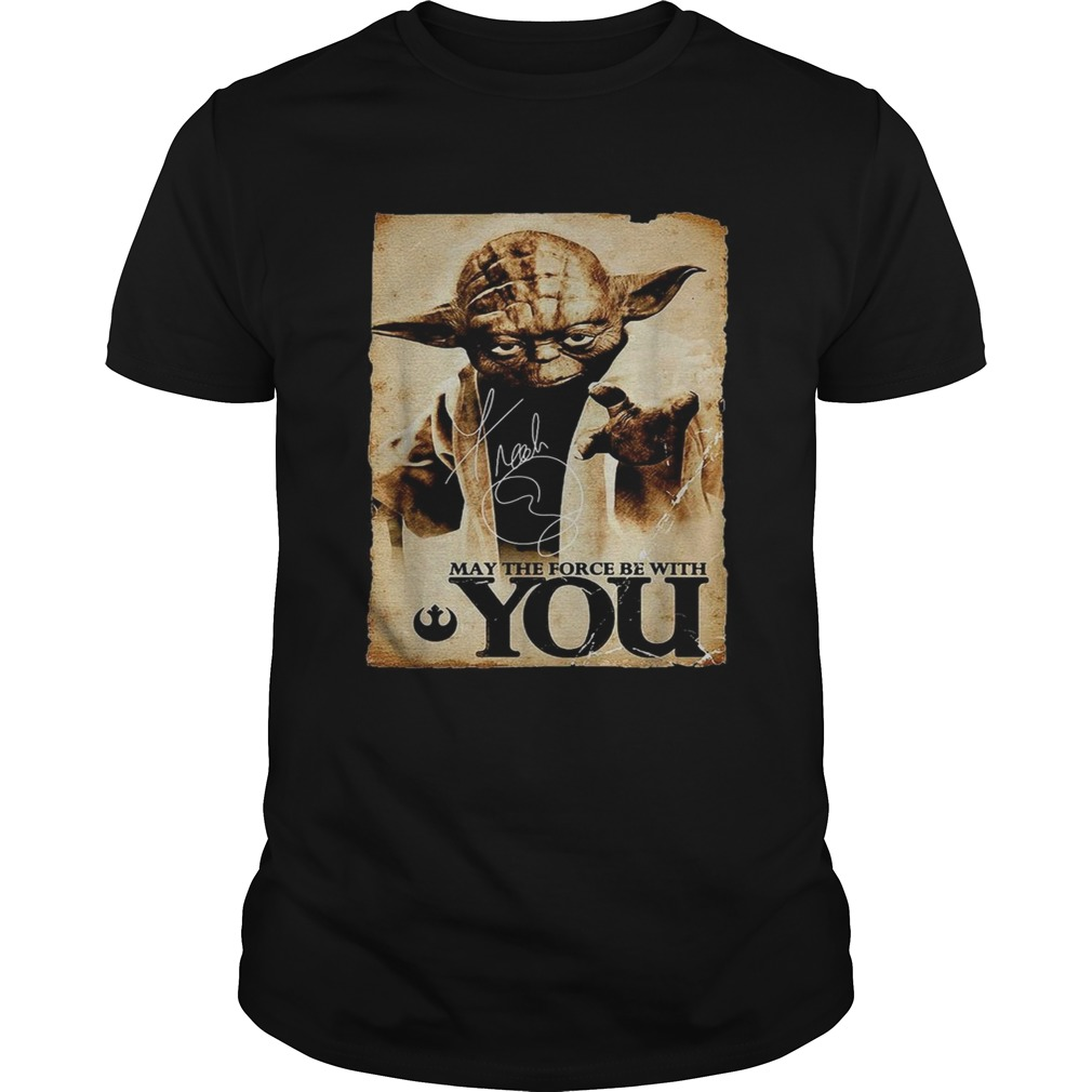 Star Wars Yoda May the force be with you  Unisex