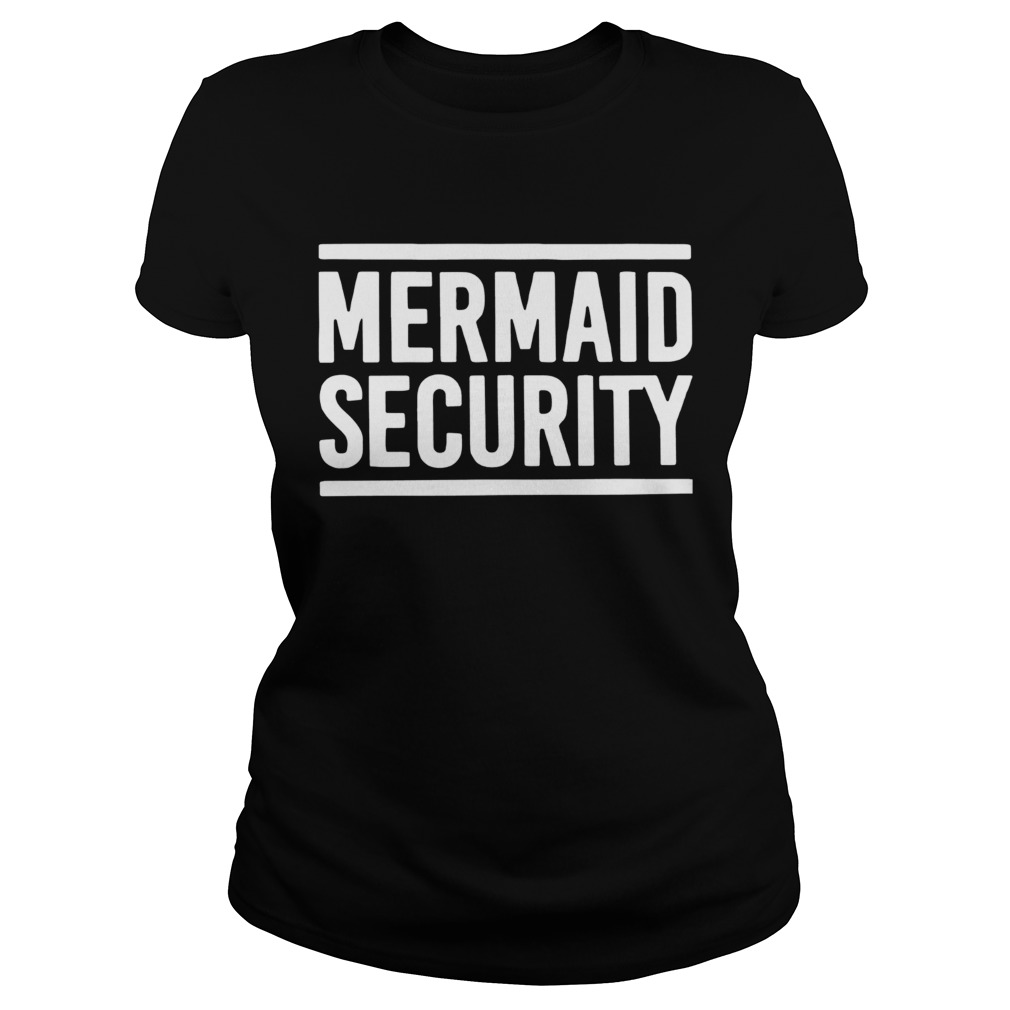 Swimming Lessons Mermaid Security  Classic Ladies
