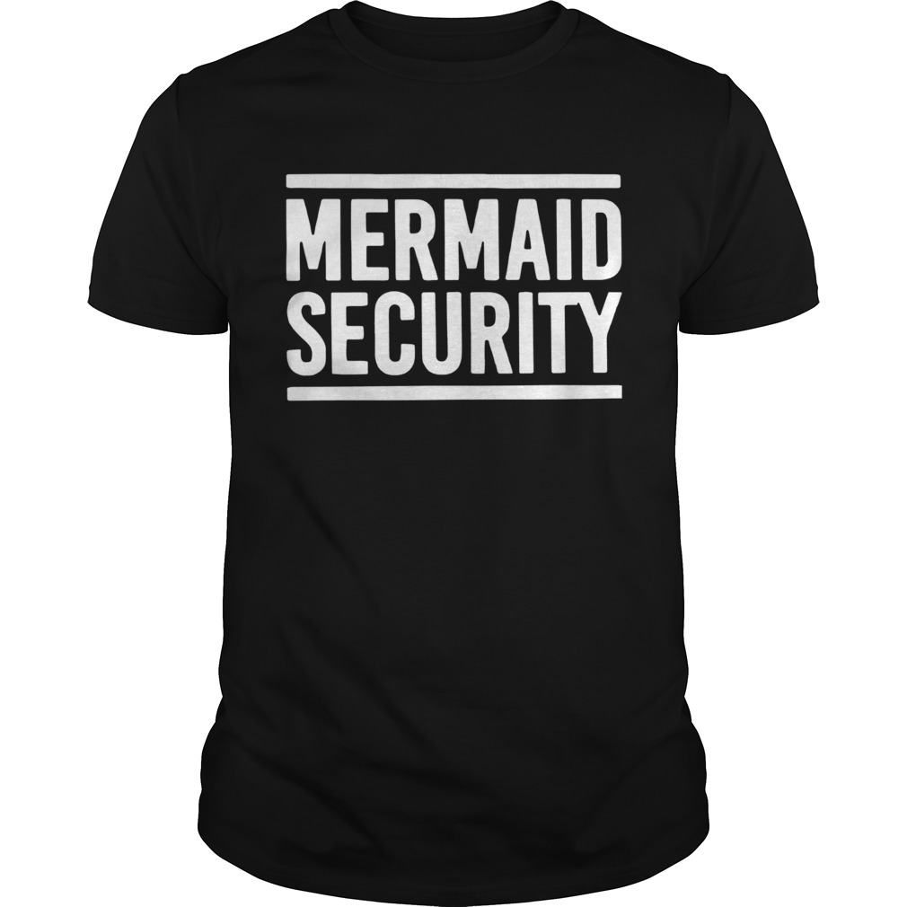 Swimming Lessons Mermaid Security  Unisex