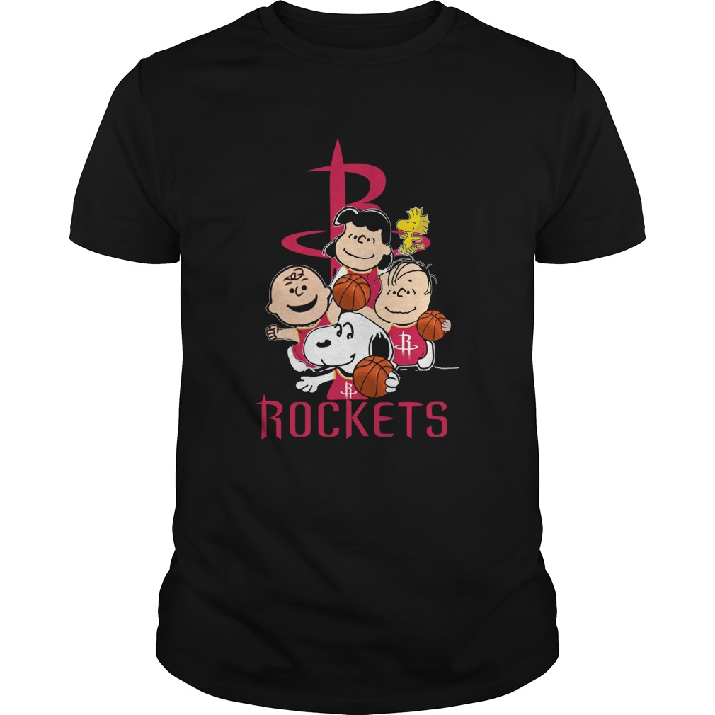The Peanut Houston Rockets  Unisex
