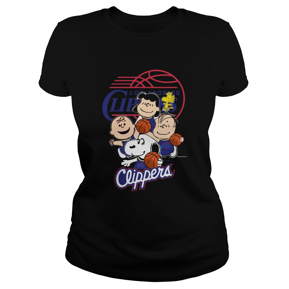 The Peanut Los Angeles Clippers  Classic Ladies