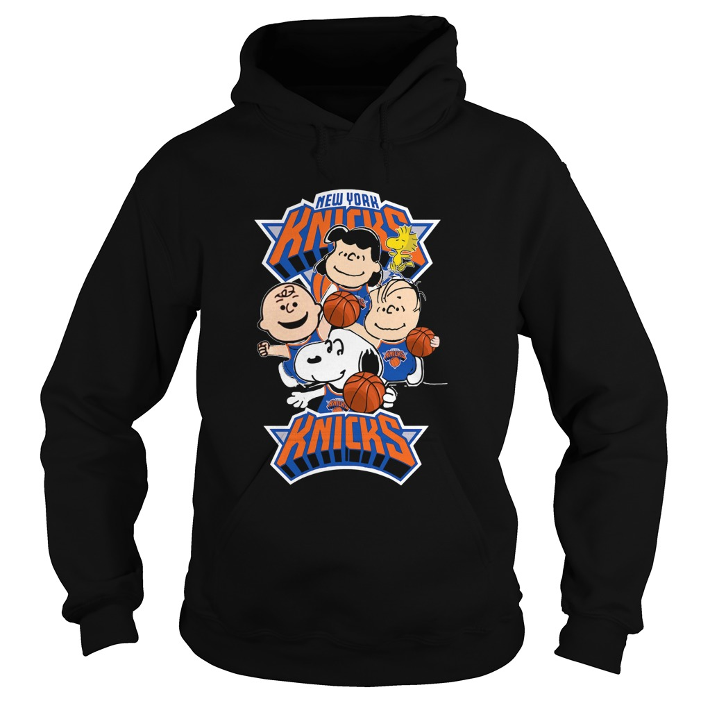 The Peanut New York Knicks  Hoodie