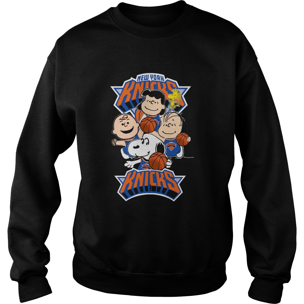 The Peanut New York Knicks  Sweatshirt