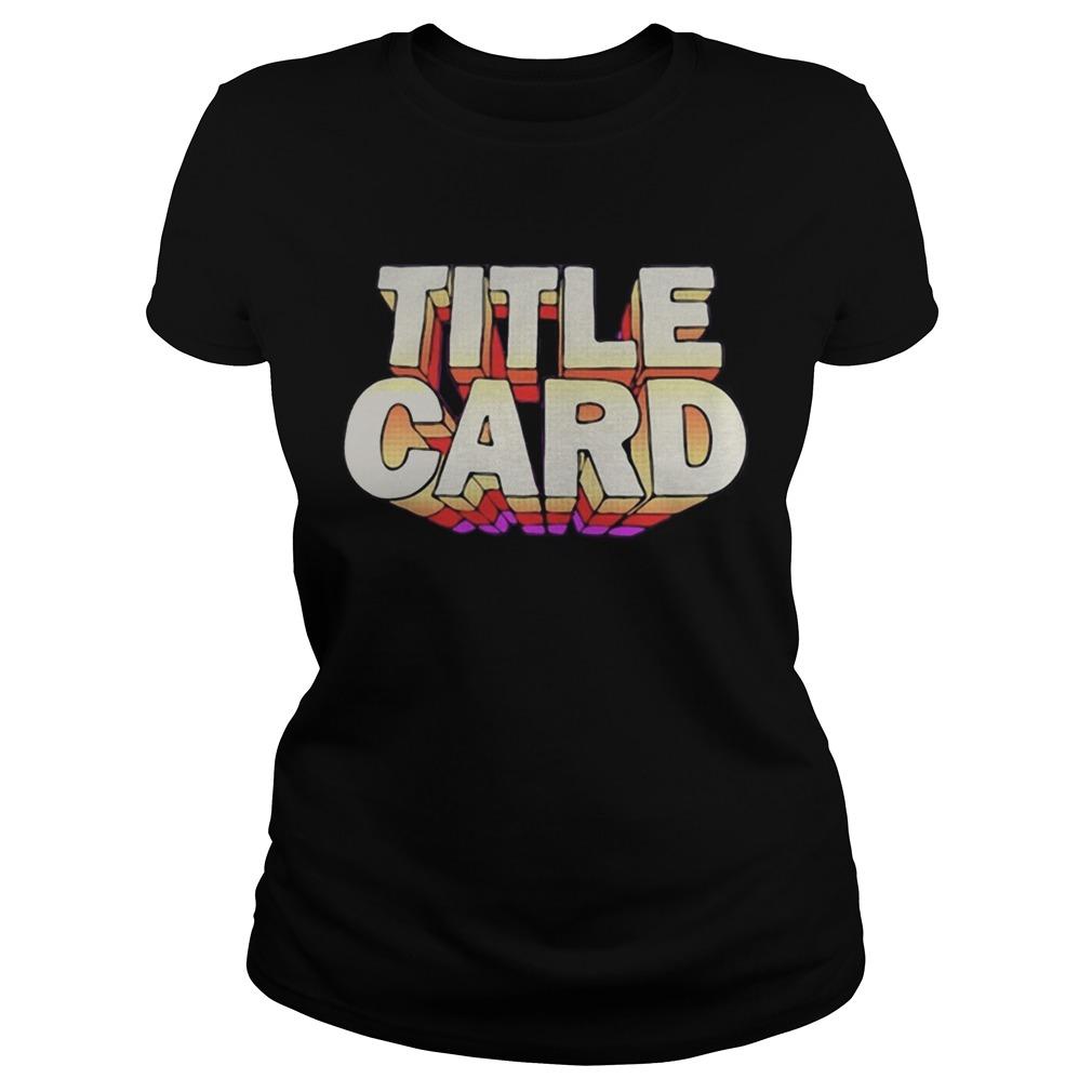 Title Card  Classic Ladies