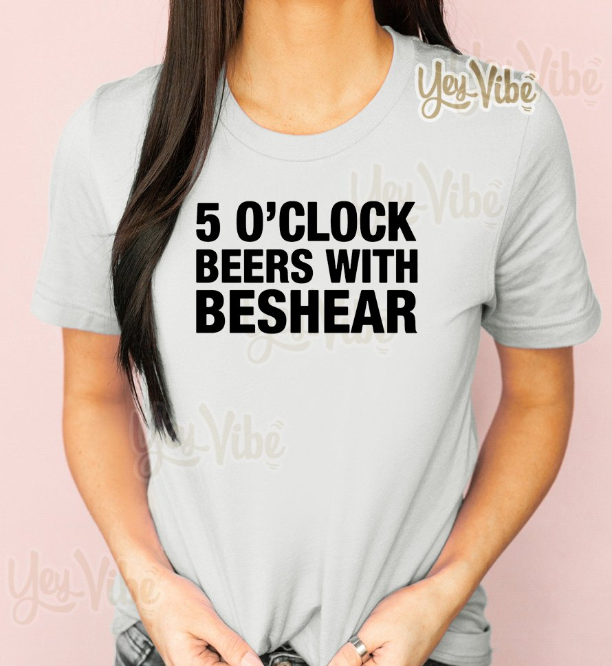 Andy Beshear 5 O'clock Beers With Beshear T-Shirt