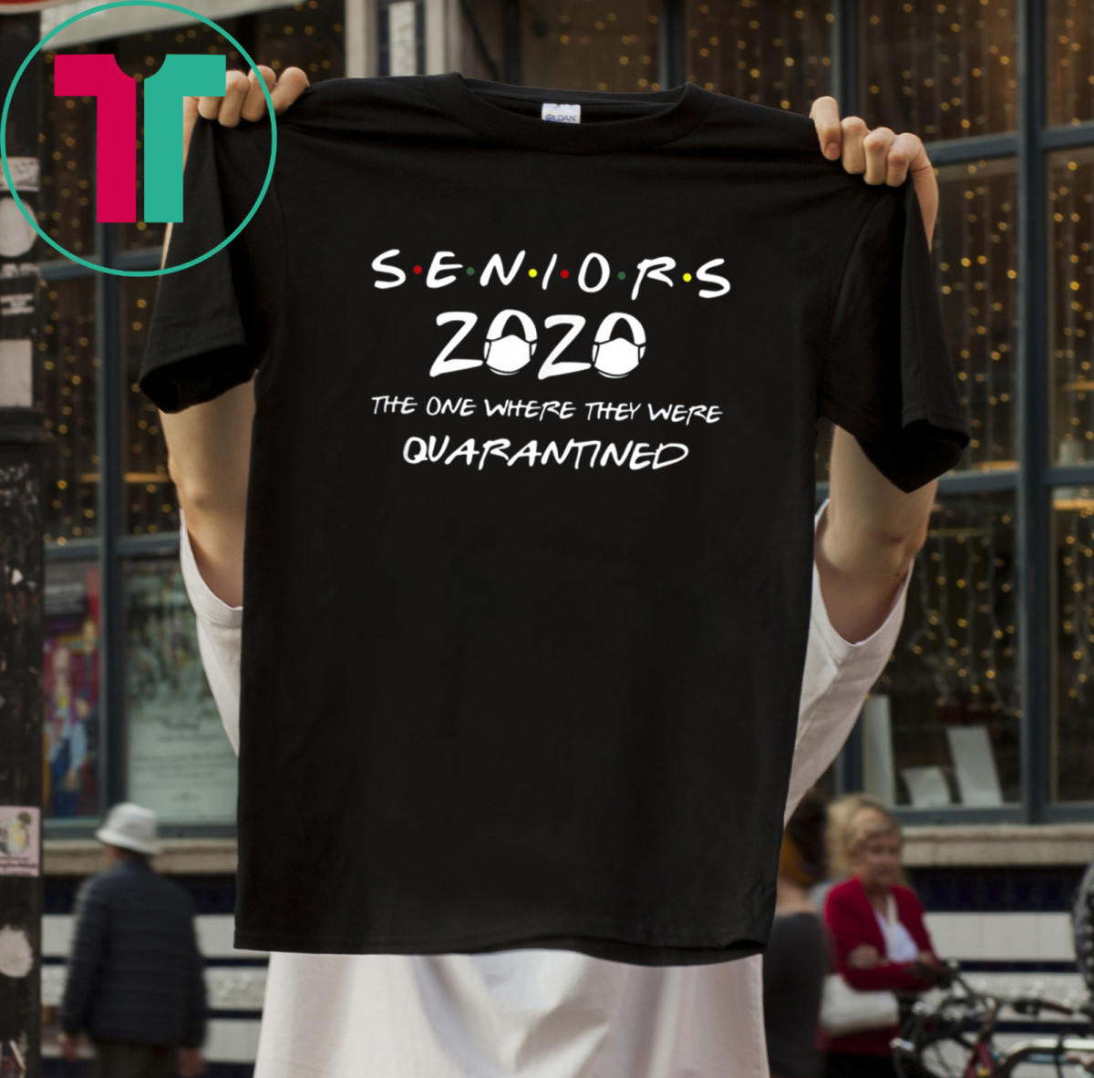 Class Of 2020 Graduation Senior Funny Quarantine Gift For T-Shirt