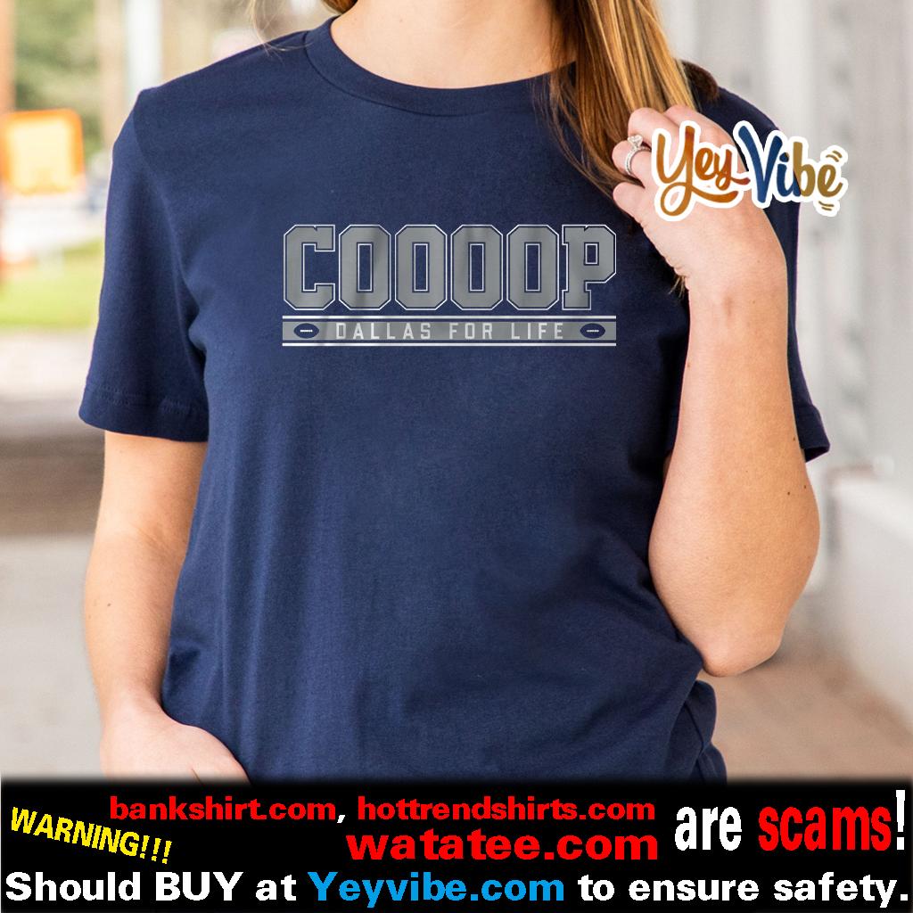 Cooooop Dallas For Life T Shirt