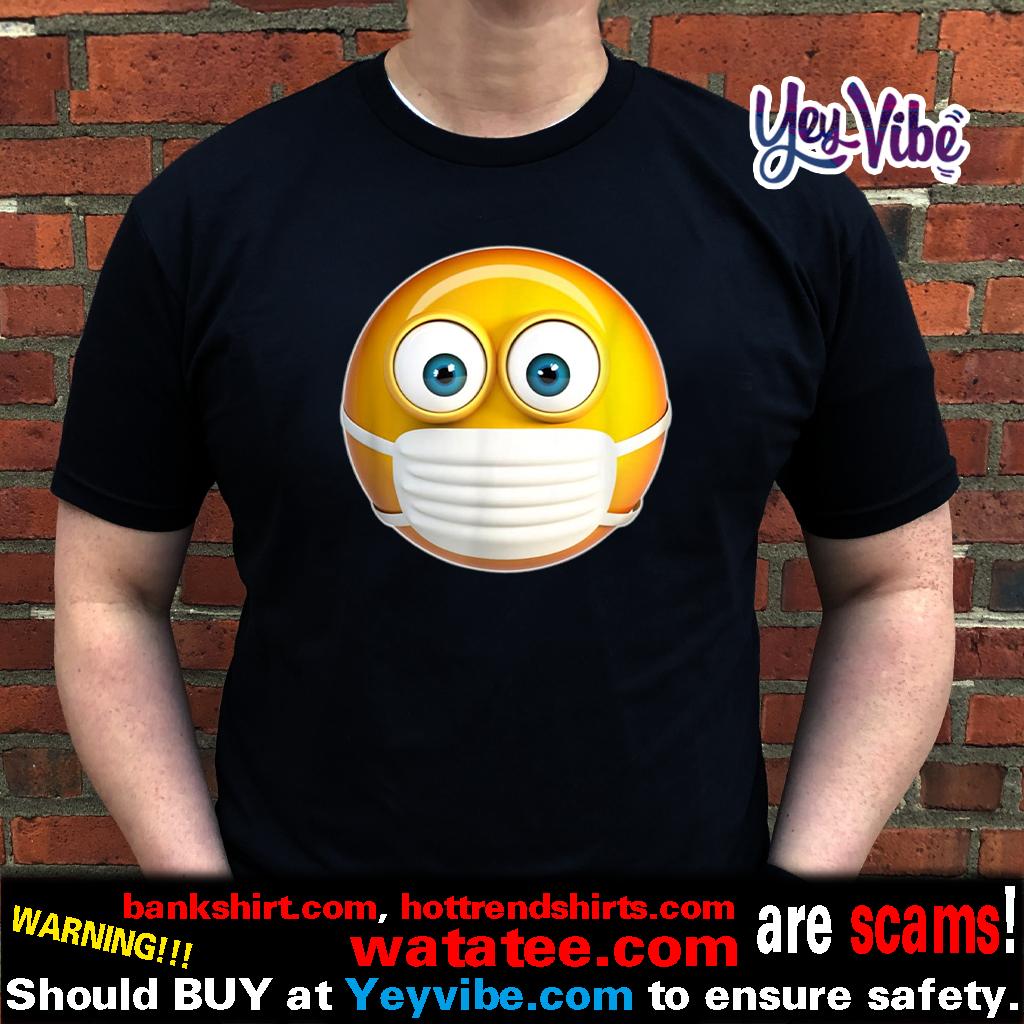 Face Medical Mask Emojis Surgical Health Mask Against Virus Shirts