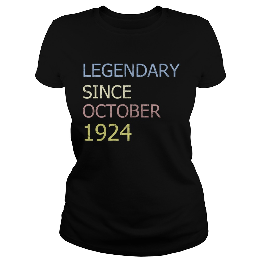 LEGENDARY SINCE OCTOBER 1924 TShirt Classic Ladies