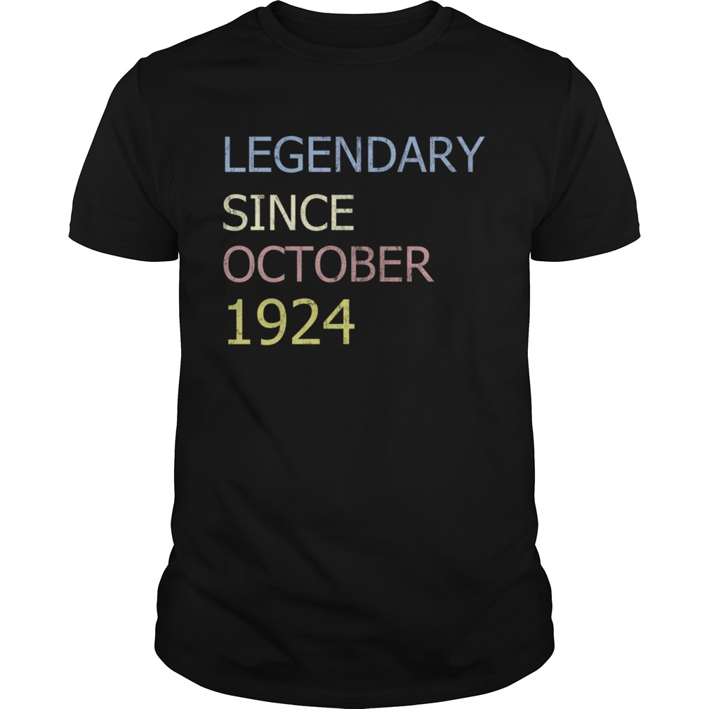 LEGENDARY SINCE OCTOBER 1924 TShirt Unisex