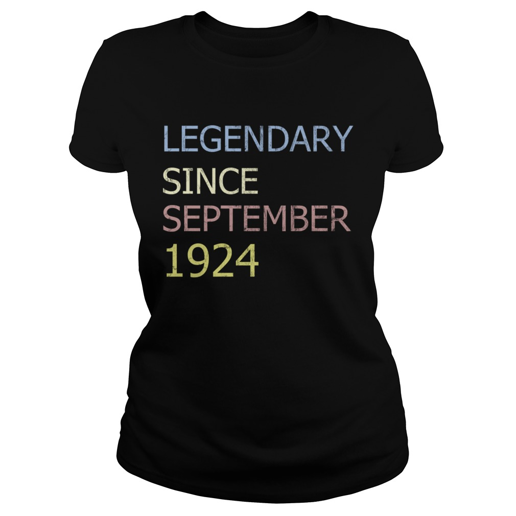 LEGENDARY SINCE SEPTEMBER 1924 TShirt Classic Ladies