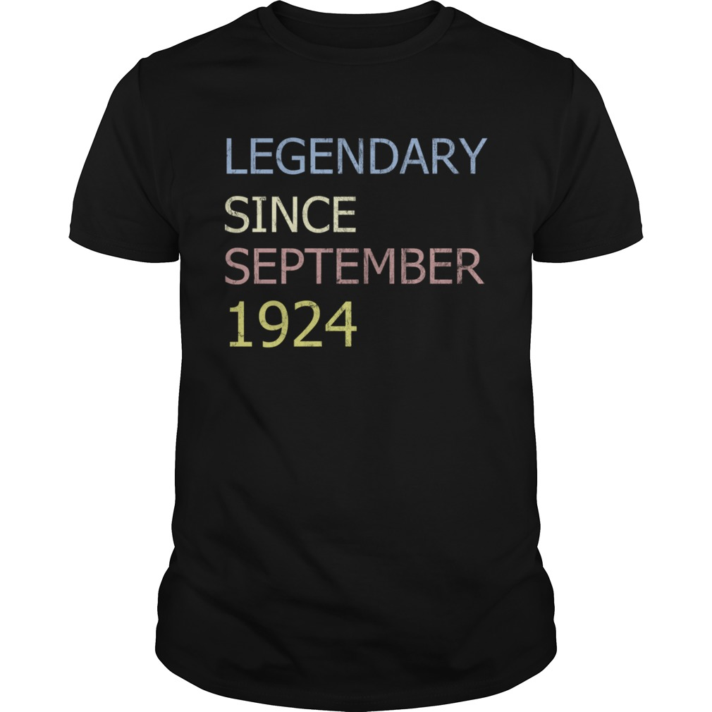 LEGENDARY SINCE SEPTEMBER 1924 TShirt Unisex