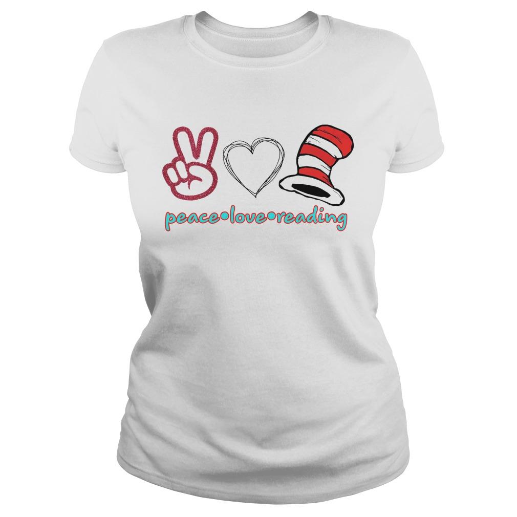 I Love Heart Reading Ladies T-Shirt