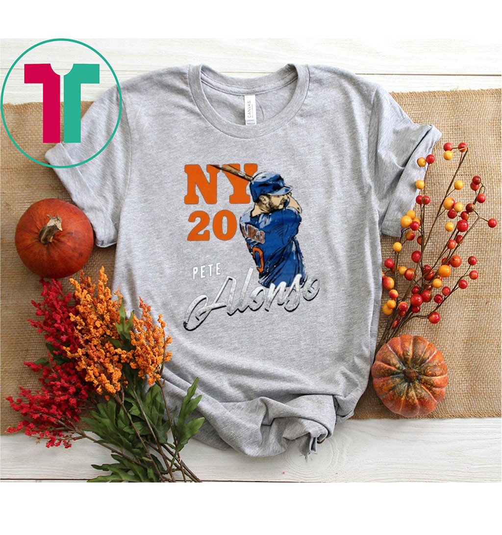 Pete Alonso Team 2020 T-Shirt New York Mets