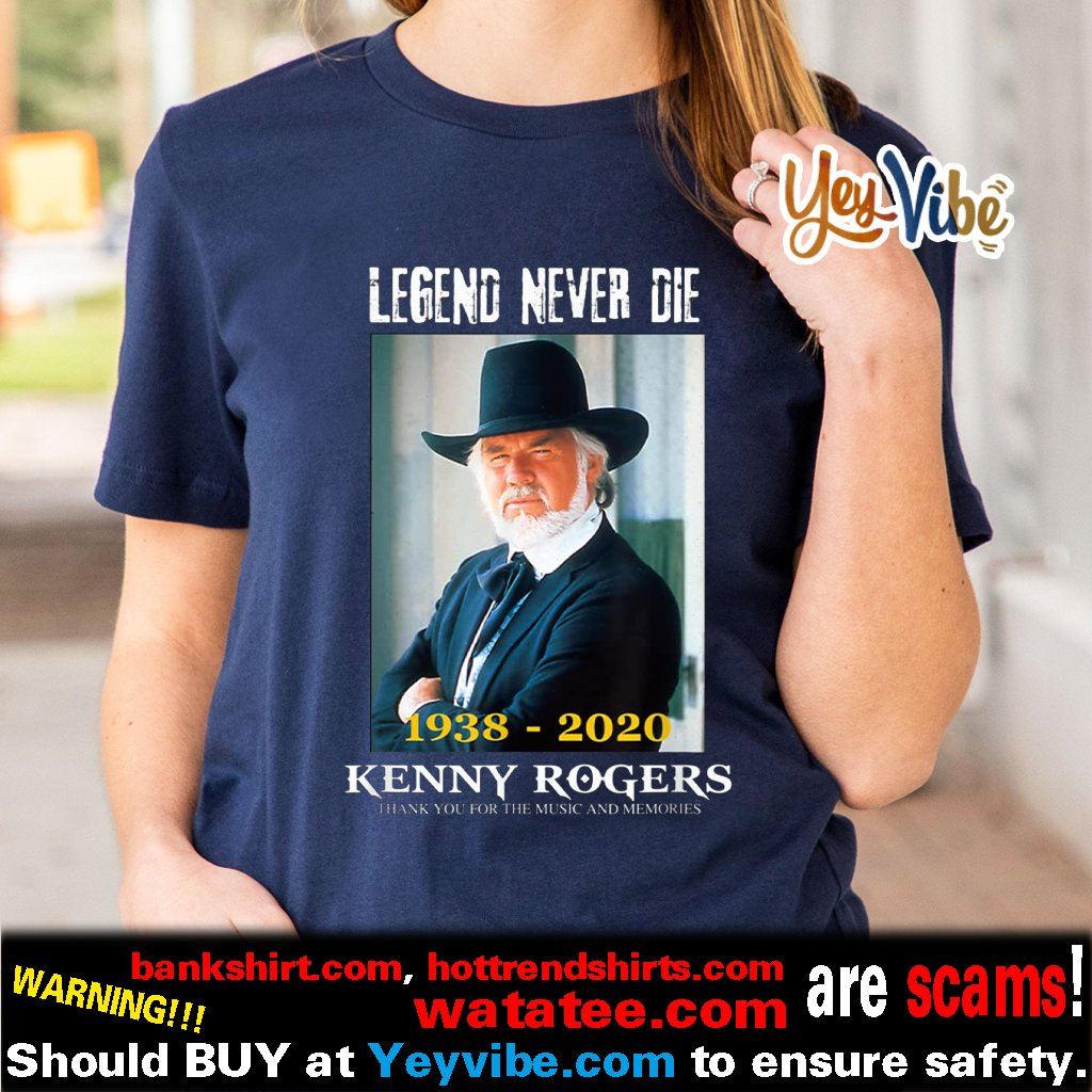 Thank You For The Memories Kenny Rogers 64 Year T Shirts