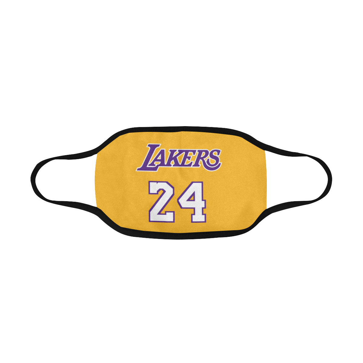 Los Angeles Lakers Kobe 24 Face Mask