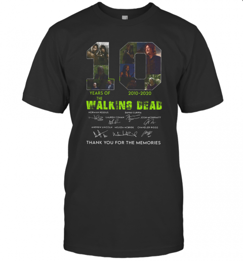 10 Years Of The Walking Dead 2010 2020 Anniversary T-Shirt Classic Men's T-shirt