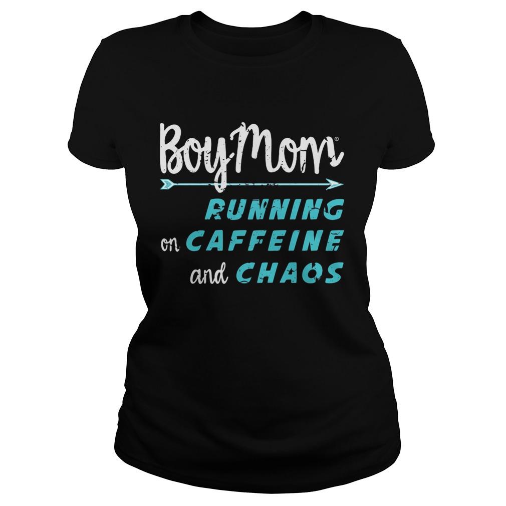 Boy Mom running on caffeine and chaos  Classic Ladies
