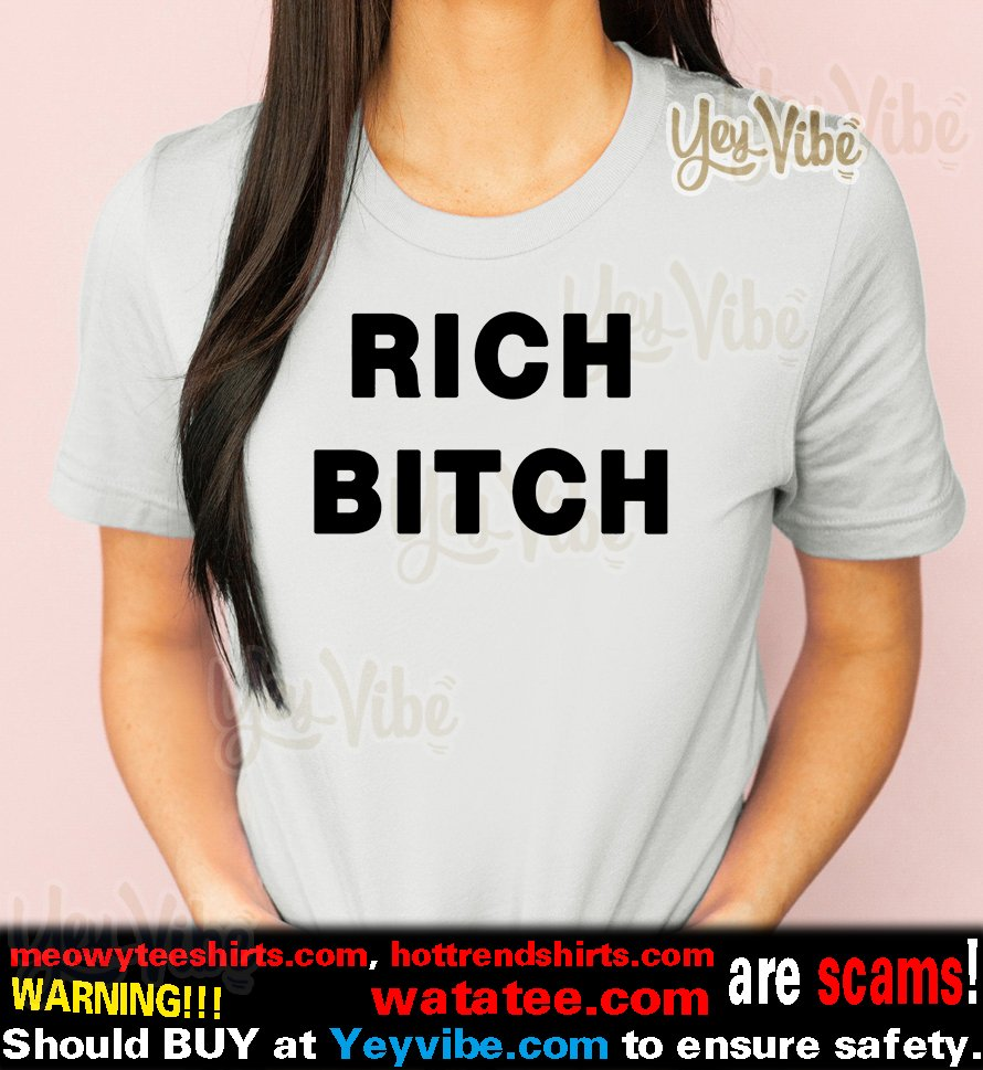 Homer Simpson Rich Bitch shirts